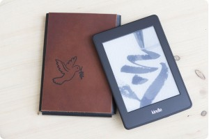 Kindle leather case